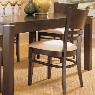 Venice Espresso Cushioned Dining Chair (Set of 2) by iNSPIRE Q Classic