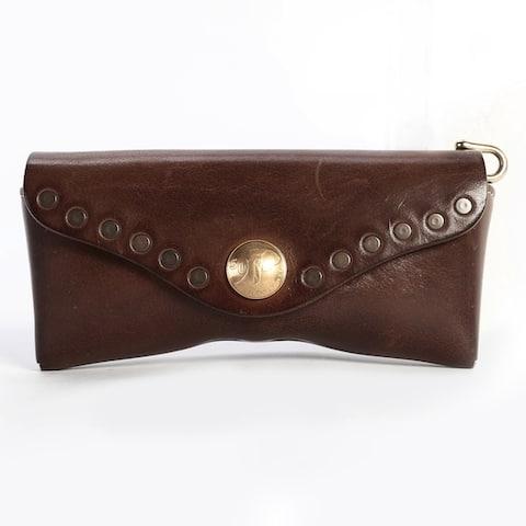Old Trend Genuine Leather Rock-Eye Sunglass Case