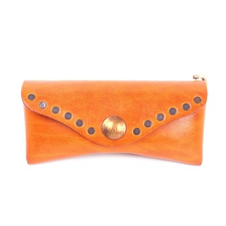 Old Trend Genuine Leather Rock-Eye Sunglass Case