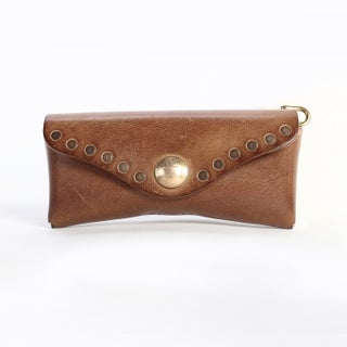 Rock-Eye Case - S (Option: Chile - Leather - Brown)