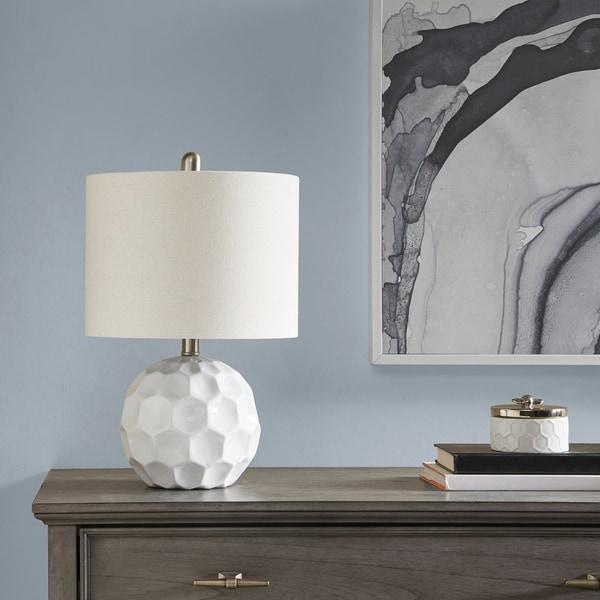 510 Design Frill White Table Lamp