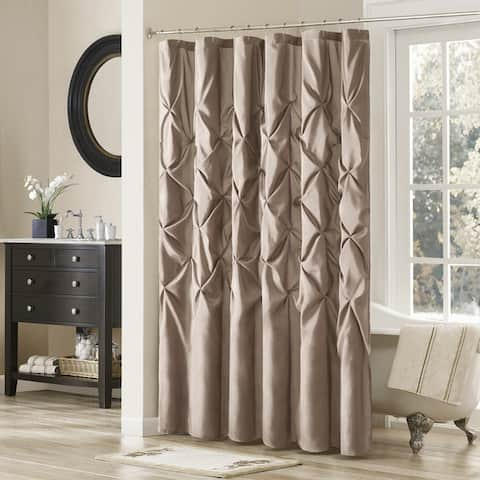 Silver Orchid Haid Polyester Shower Curtain