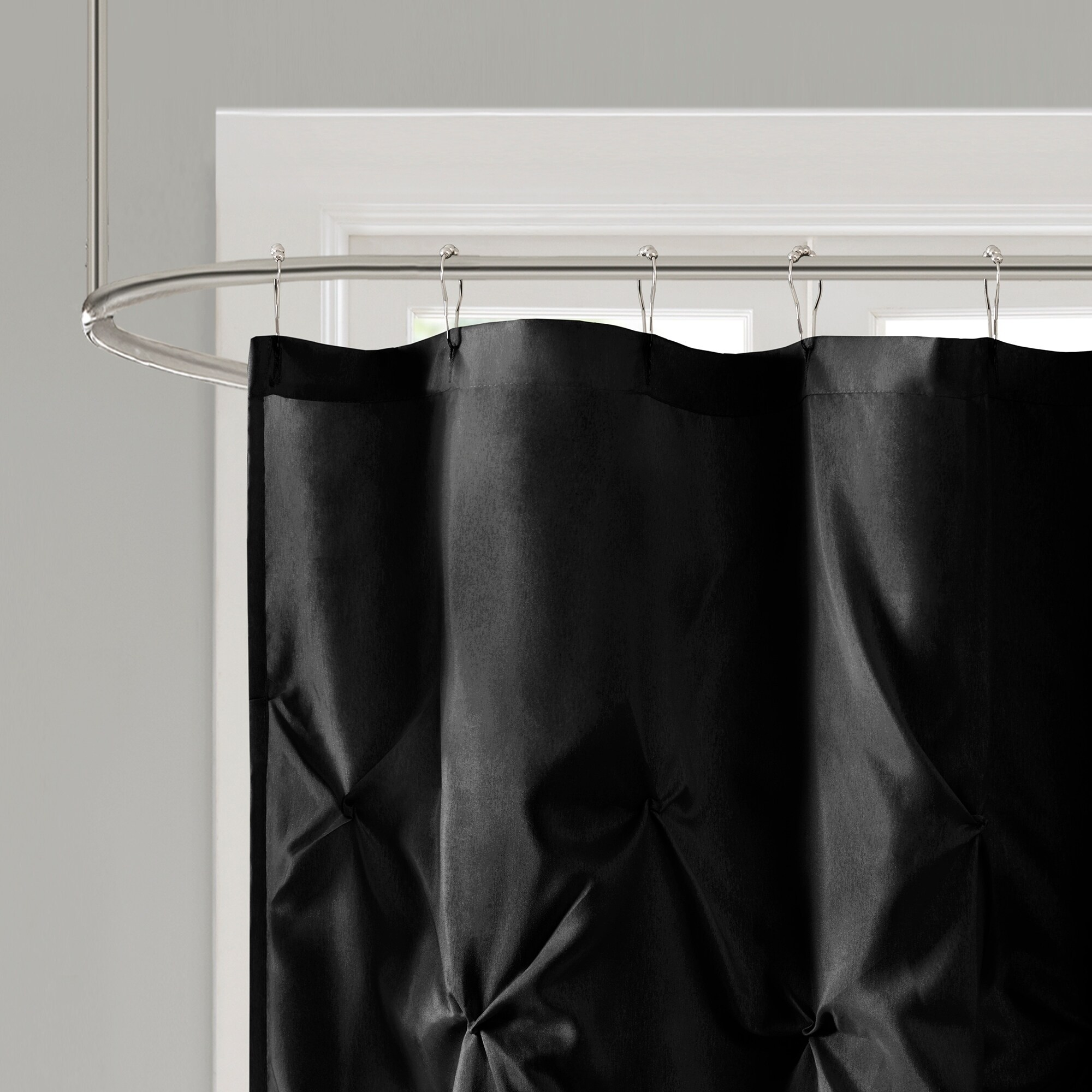 Black Shower Curtains For Less - Overstock  Vibrant Fabric