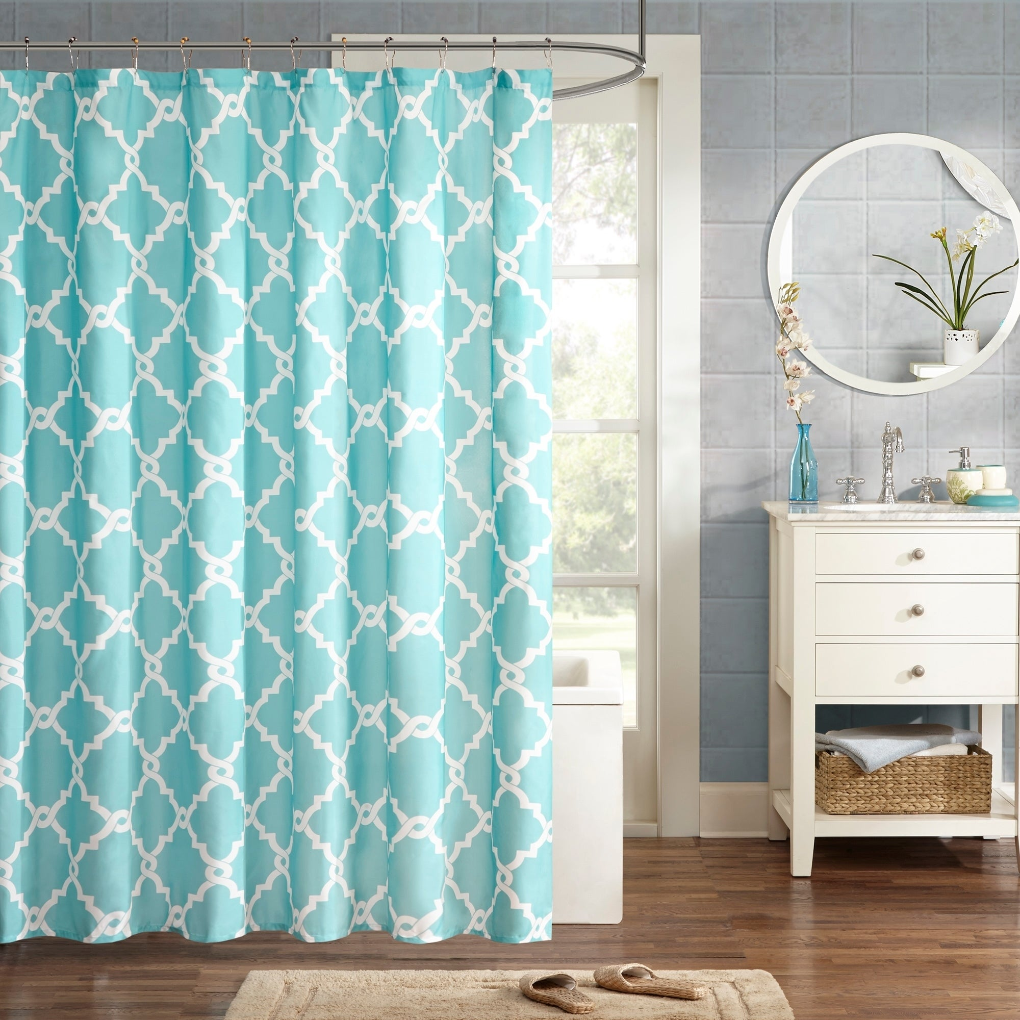 Buy Blue Shower Curtains Online At Overstock