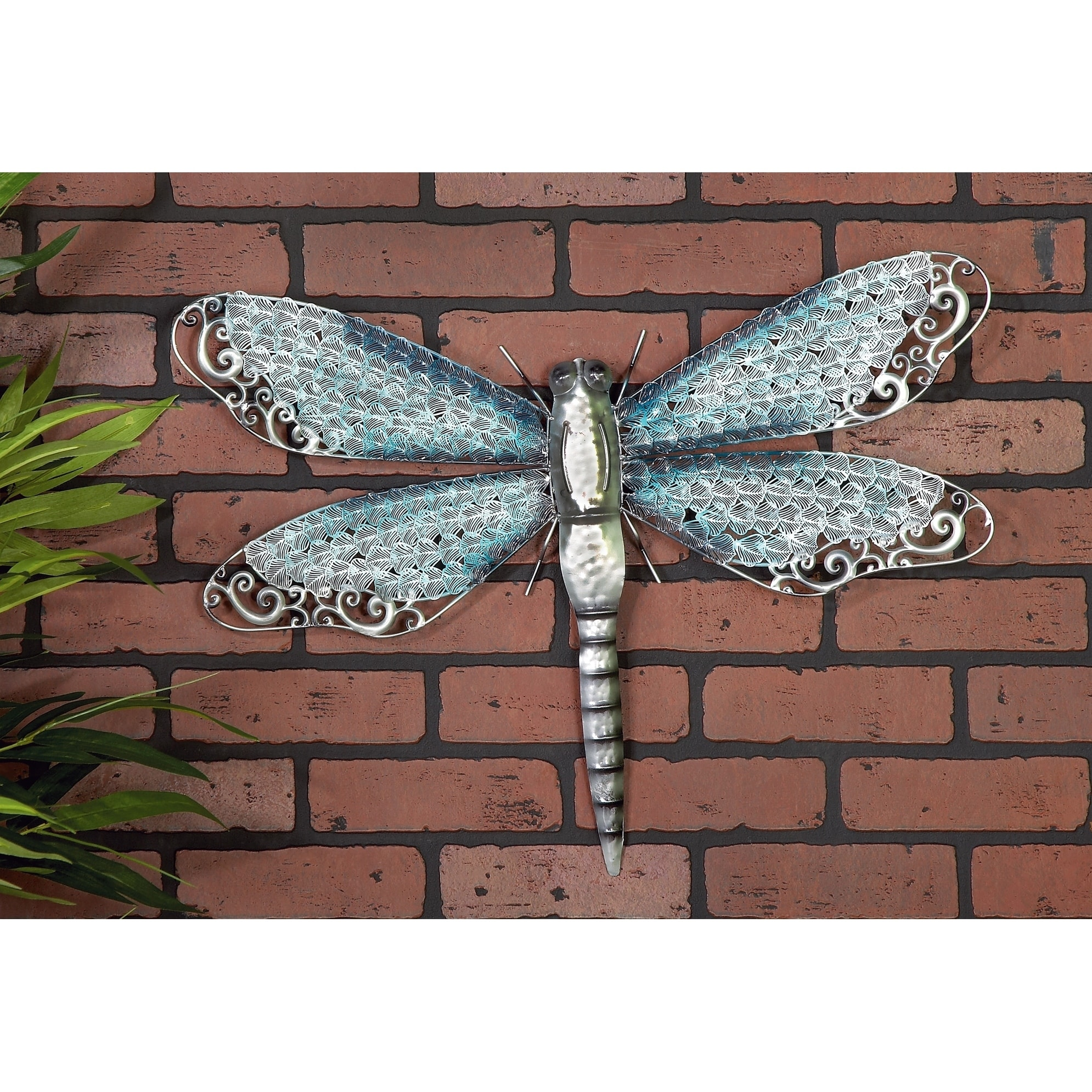 9 34 x 11 Dragonfly Plant Hanger Free Ship