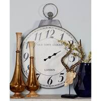 The Gray Barn Joyful Stream London Inspired Wall Clock