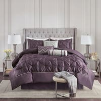 Clay Alder Home Red Cliff Plum 7-piece Comforter Set