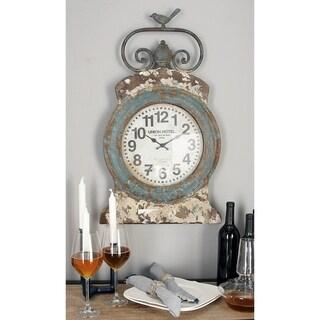The Gray Barn Joyful Stream Union Hotel Metal Wall Clock