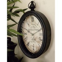 The Gray Barn Joyful Stream Metal Wall Clock (Set of 2)