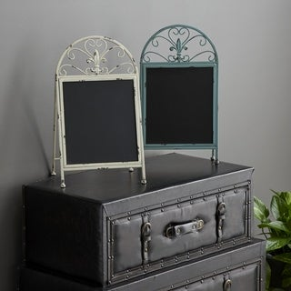 The Curated Nomad Jiminez Metal Chalk Board (Set of 2)