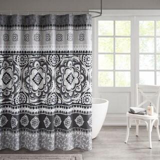 510 Design Kori Printed Shower Curtain 2 Color Option