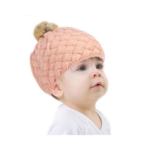 Zodaca Fashion Design Baby Boys Girls Crochet Warm Winter Beanie Stretchy Knit Hat