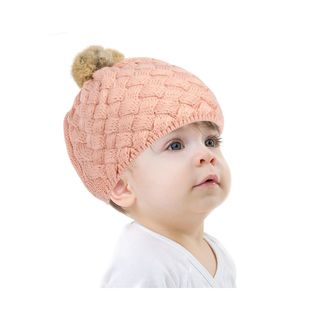 Zodaca Fashion Design Baby Boys Girls Crochet Warm Winter Beanie Stretchy Knit Hat