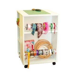 Arrow Sewing Cabinets Storage Cube with 4 Lockable Casters