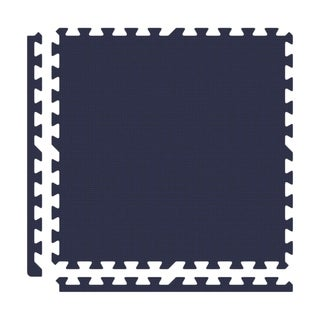 Alessco Premium SoftFloors - 8' x 8' Set - Navy Blue