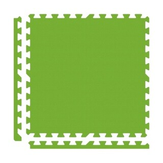 Alessco Premium SoftFloors - 20' x 20' Set - Lime Green