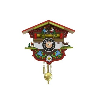 Alexander Taron 0143KQP - Engstler Battery-operated Clock - Mini Size with Music/Chimes