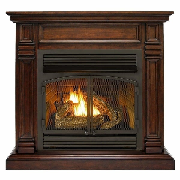 Shop Duluth Forge Dual Fuel Ventless Fireplace 32 000
