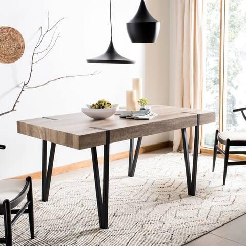 Safavieh Alyssa Brown Rustic Mid-Century Dining Table - Multi