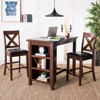Safavieh Everest Mahogany 3-piece Pub Set