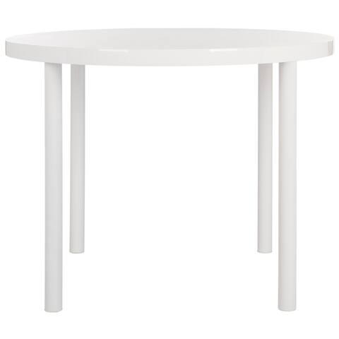 "Safavieh Torin White Dining Table - 39.4"" x 39.4"" x 30"""