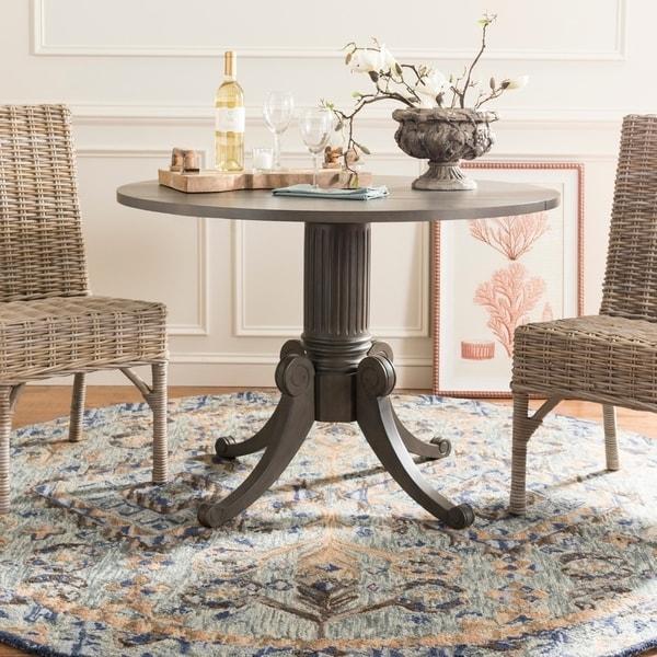 Shop Safavieh Forest Grey Wash Drop Leaf Dining Table