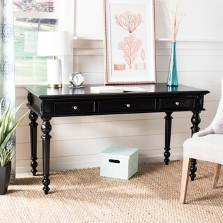 Safavieh Ronin Black 3-drawer Desk
