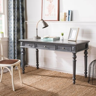 Safavieh Ronin Grey Wash 3-drawer Desk