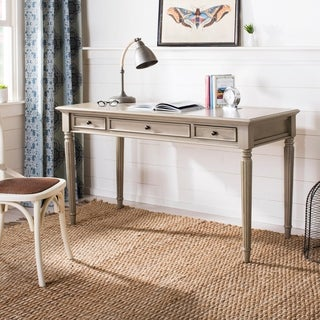 Safavieh Constance Light Grey 3-drawer Desk