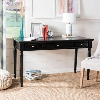 Safavieh Constance Black 3-drawer Desk