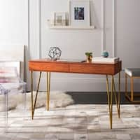 Safavieh Pine Natural 2-drawer Desk