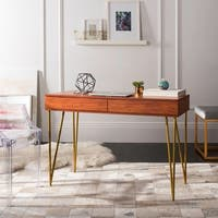 Safavieh Pine Natural 2-drawer Desk
