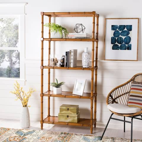 Safavieh Ebo 4-tier Brown Etagere - 14.6' x 36' x 78'
