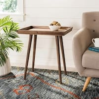 Safavieh Nonie Chocolate Brown Tray Accent Table