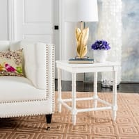Safavieh Liviah White Accent Table