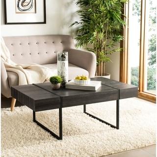 Safavieh Tristan Modern Black Coffee Table
