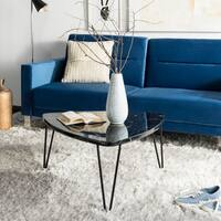 Safavieh Jacky Black Triangle Coffee Table