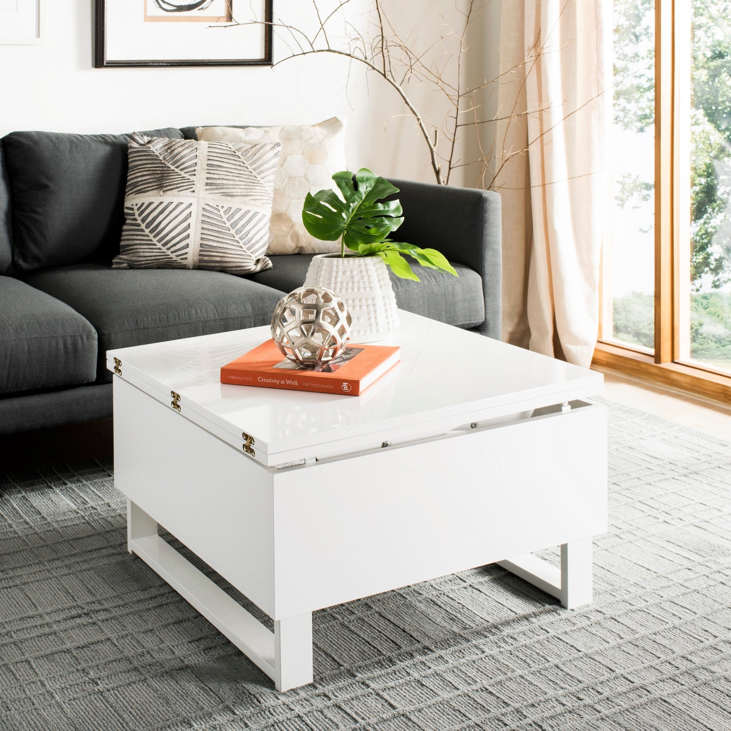 - Shop Safavieh Vanna White Lift-Top Coffee Table - 27.6