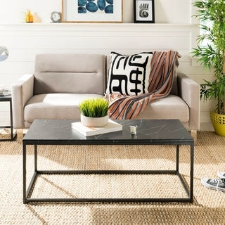 Safavieh Baize Black Coffee Table