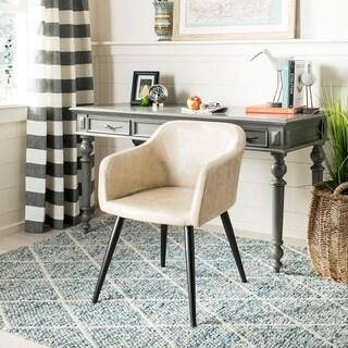 Safavieh Adalena Beige/ Black Accent Chair