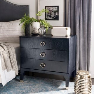 Safavieh Lorna Navy Night Stand