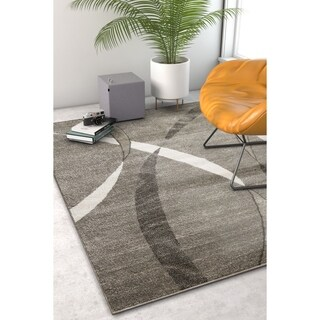 """Well Woven Modern Abstract Lines Area Rug - 3'11"""" x 5'3"""""""