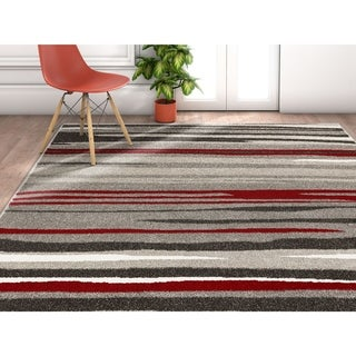 "Well Woven Modern Stripes Area Rug - 3'11"" x 5'3"""