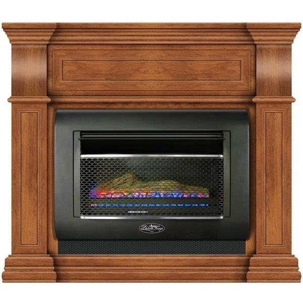 Shop Duluth Forge Mini Hearth Ventless Gas Wall Fireplace 26000