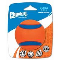 """Petmate 17030 3"""" Large Orange Chuckit!® Ultra Ball"""