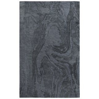 Rizzy Home Fifth Avenue Dk.Grey Abstract Area Rug - 5' x 8'