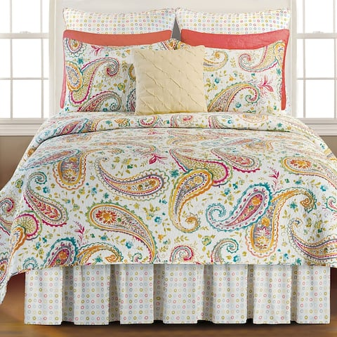 Johanna Cotton 3 Piece Quilt Set - Twin 2 Piece
