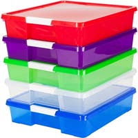 12x12 Stack & Store Box / Assorted Colors (5 units/pack)