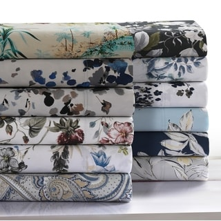 Link to 300 Thread Count Cotton Ultra-Soft Printed Deep Pocket Bed Sheet Set Similar Items in Bed Sheets & Pillowcases