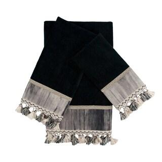 Sherry Kline Ambiance 3-piece Decorative Embellished Towel Set